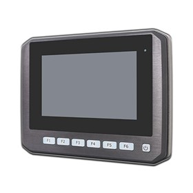 APC-3072/3073 - Aluminium Front Bezel Design In-Vehicle Panel PC