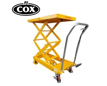 Double Scissor Lift with capacities 350kg or 700kg