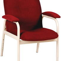 High Back Chair Fabric Height Adjustable