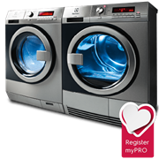 Washing Machine and Dryer | myPRO by Electrolux Professional