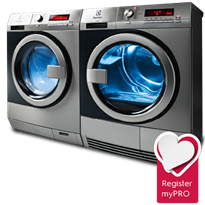 Washer and Dryer | myPRO by Electrolux Professional