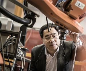 UOW's Professor Li has 19 years research experience in materials science and engineering. Credit: UOW