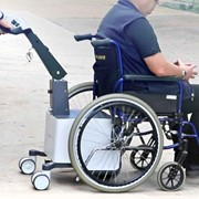 Battery Powered Mover for Manual Wheelchair