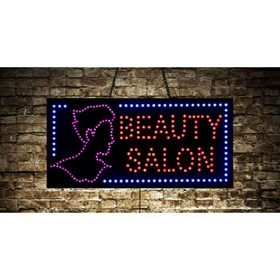 Animated Beauty Salon LED Sign