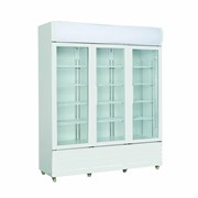 F.E.D Thermaster Triple Glass Door 1200L Drink Fridges | LG-1203GE