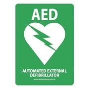 AED Directional Signage