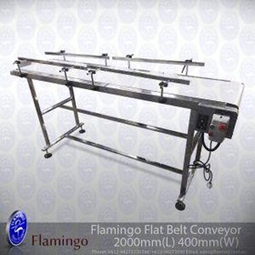 Flamingo Flat Belt Conveyor Wide | EFCF-400-2000