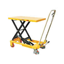 Scissor Lift Table & Trolley - 700 x 450 x 36mm