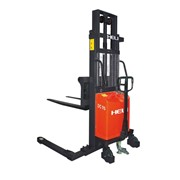 1500kg Semi-Electric Straddle Stacker 1600mm Lift Height