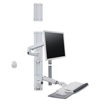 Healthcare Mounting Solutions | LX Wall Mount System (White)