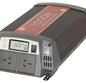 1000W Pure Sine Wave Inverter with 30A Solar Regulator