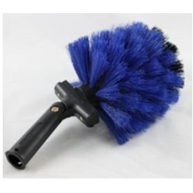 Round Head Swivel Cobweb Brush Commercial