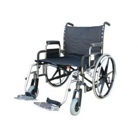 Ansa Bariatric Manual Wheelchair - 5110 Extra Care Plus (SWL 300Kg)
