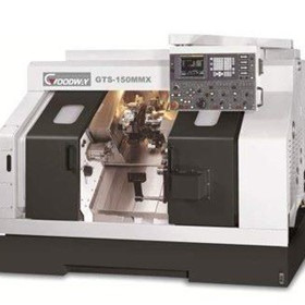 CNC Lathes-Slant Bed Lathes-Goodway GTS Series