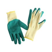 Gloves Cotton With Latex Grip
