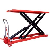 1T Supper large scissor table lifter/Trolley max table height 1400mm