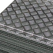 Aluminium Checker Plate Flat Sheets
