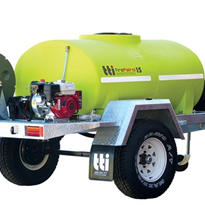 Trailer Unit (Single Axle) - TTi - FirePatrol 1200L - PRFX1200LZ