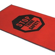 MatTEK | Logo Mats | Safety Message Mat