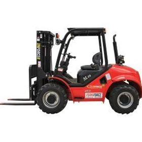 Enforcer 2.5T 4WD Rough Terrain Forklift | FD25T-AT-YMA