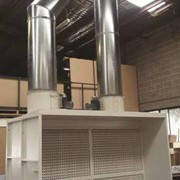 Wet and Dry Type Spray Booths