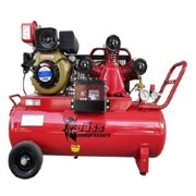 BOSS 18CFM/ 4HP Diesel Air Compressor 100L Tank BC20D-100L